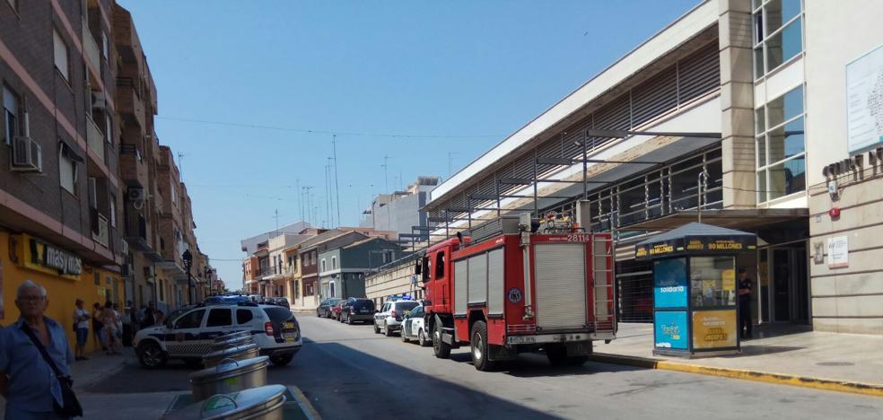 Desalojadas 50 personas del centro de salud de Picassent