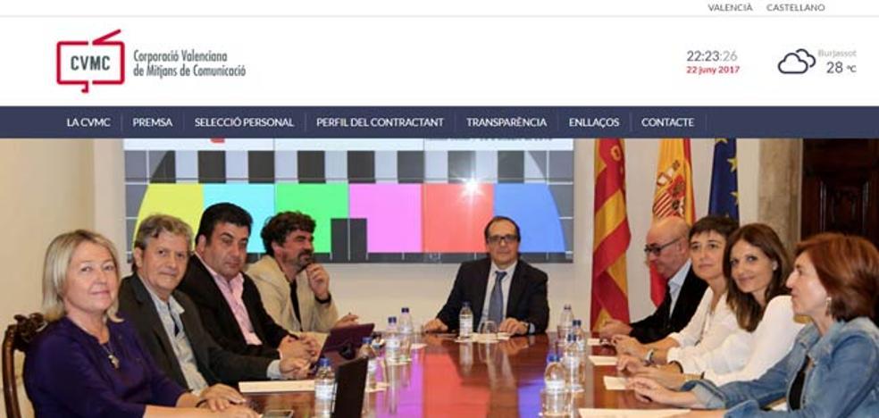 La nueva RTVV presenta su nueva web corporativa