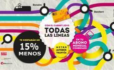 Así funciona el Abono Transporte Jove para moverse en transporte público por Valencia