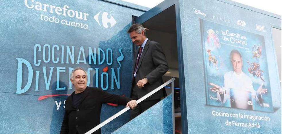 La caravana de la salud apadrinada por Disney y Ferrán Adrià llega a Alicante