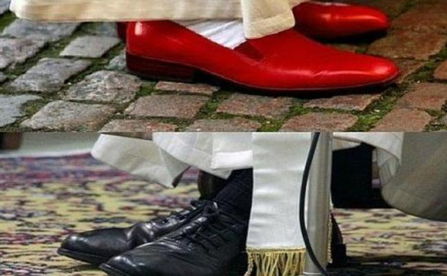 El Papa no quiere zapatos de Prada