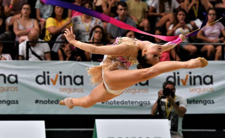 Fotos del Campeonato de España de gimnasia rítmica 2017 en Valencia