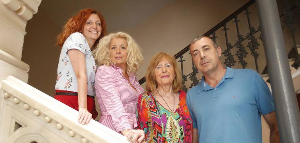 En familia con Begoña de Sobrecueva e hijos