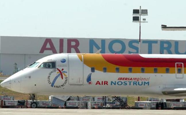 Los dueños de Air Nostrum se reparten 3,4 millones