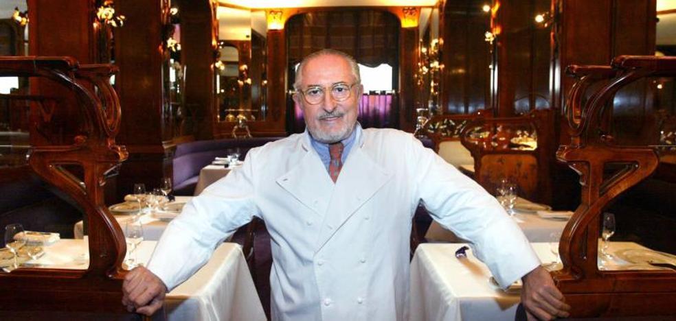 Muere el chef francés Alain Senderens, que renunció a sus estrellas Michelín