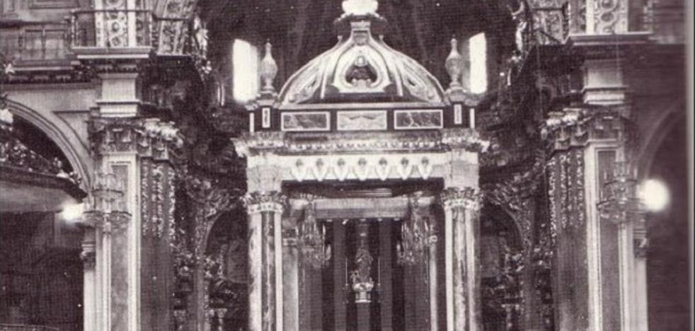 ¿Dónde está el antiguo baldaquino de la Catedral de Valencia?