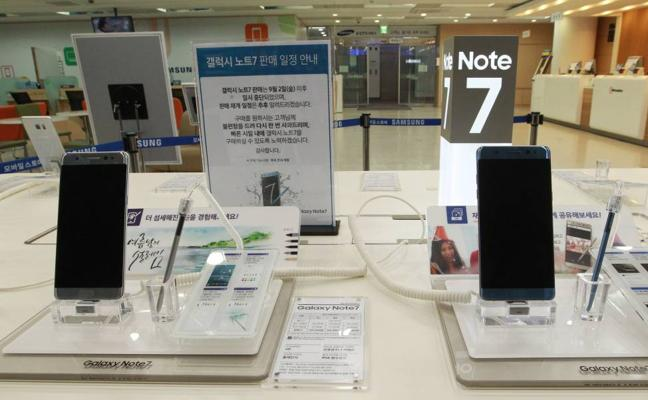Samsung volverá a vender el polémico Note 7