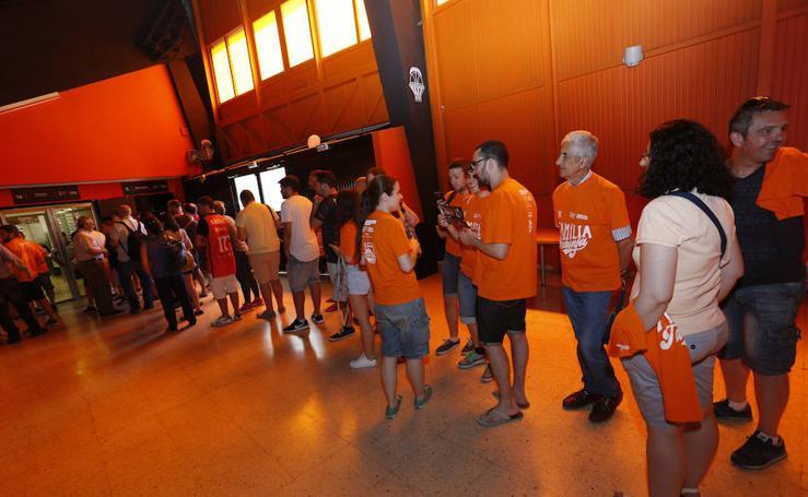 Fotos de la presentación de los abonos del Valencia Basket
