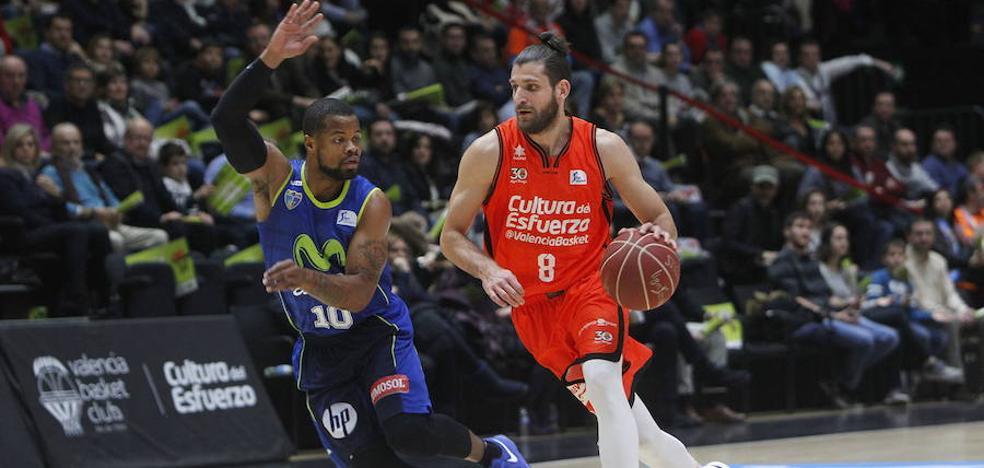 Valencia Basket inscribe a Antoine Diot y Luke Sikma en la lista de jugadores sometidos a tanteo
