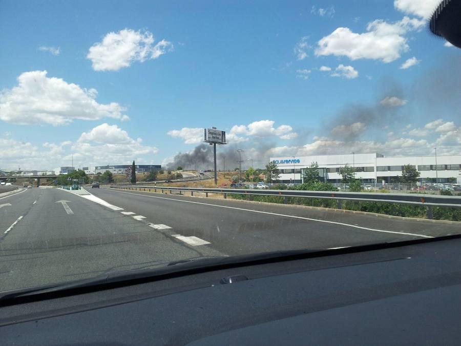 Fotos del incendio en Fuente del Jarro en junio de 2017
