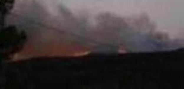 El primer gran incendio del verano amenaza el Parque Natural de la Calderona