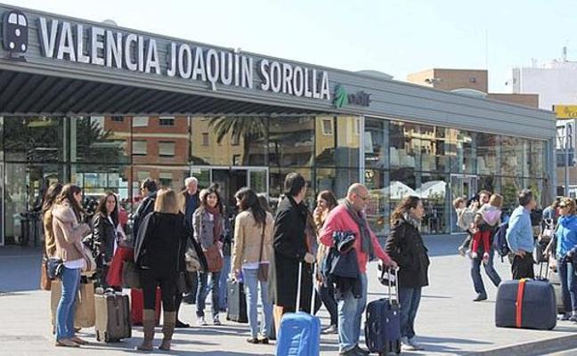 Cómo ir a la Estación Joaquin Sorolla de Valencia