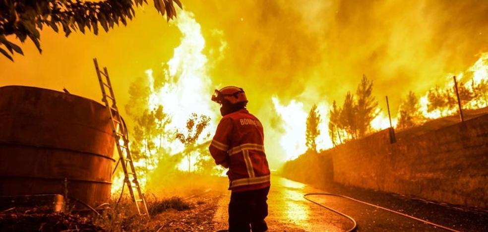 La 'regla de los tres 30' que hace imparable un incendio