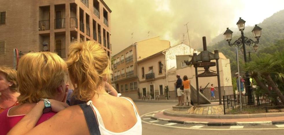 La Sierra Calderona, siempre amenazada por el fuego
