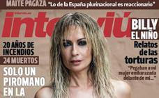 Olvido Hormigos, de nuevo, en la portada de Interviú