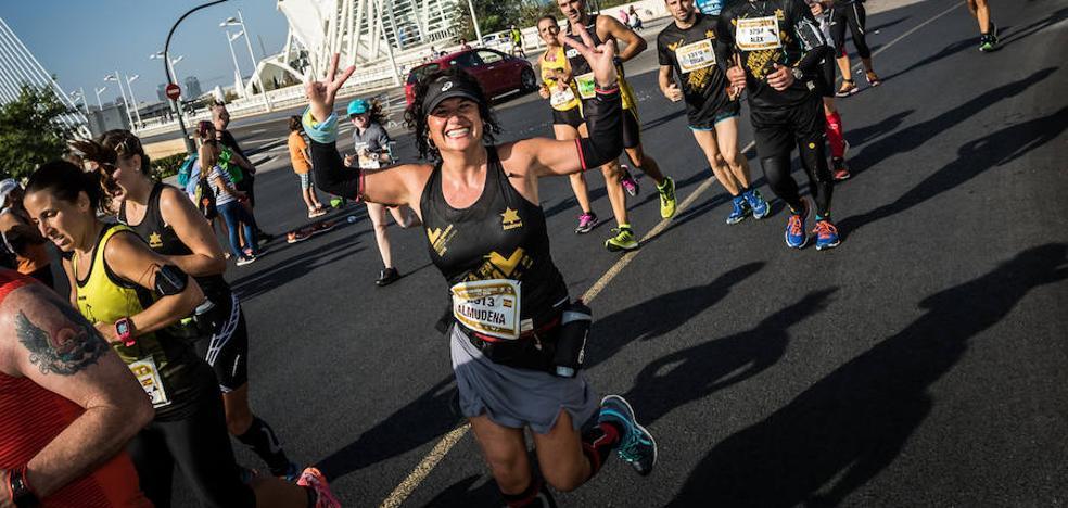 El maratón de Valencia alcanza los 13.500 inscritos