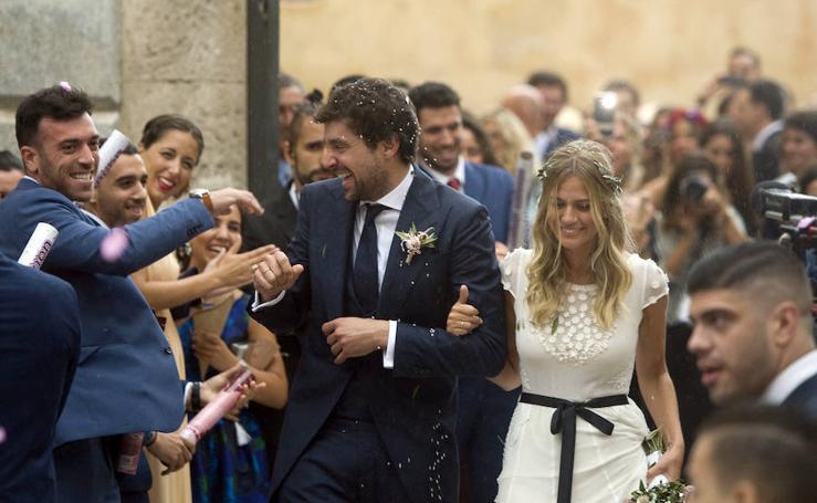 Fotos de la boda de Segio Llull y Almudena Cánovas