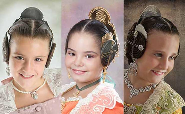 Fotos de las candidatas infantiles de las preselecciones para la corte de honor de las Fallas 2018