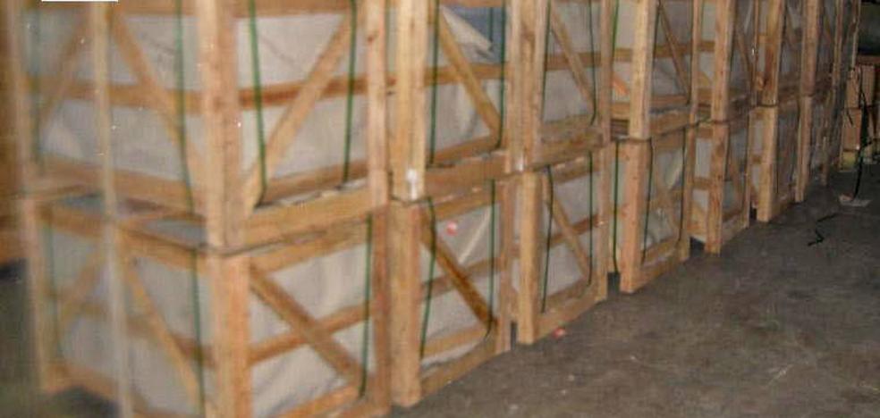 Incautadas 2,3 toneladas de tabaco en Oliva a una banda de contrabando