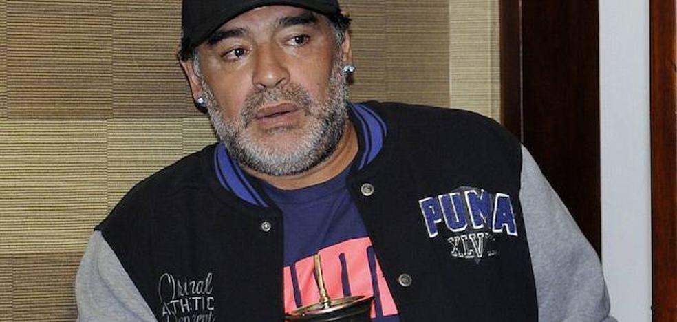 Una periodista rusa acusa a Diego Armando Maradona de acoso sexual