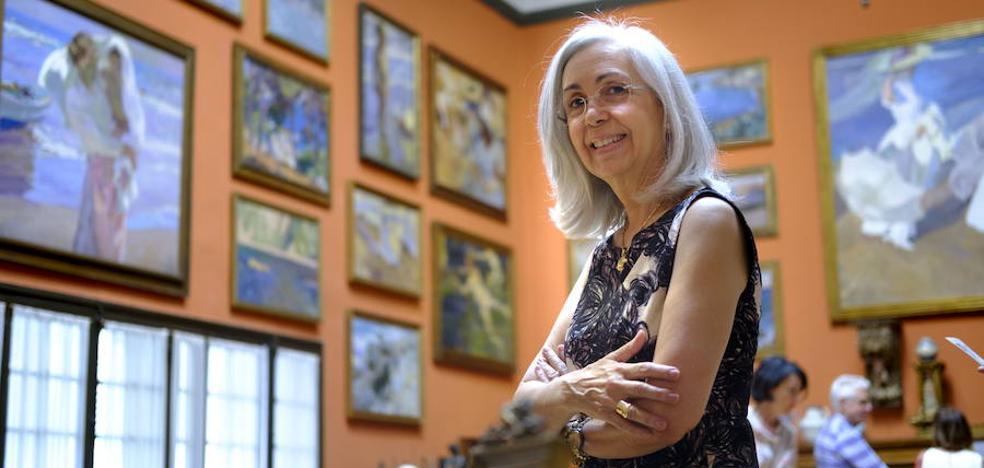 Blanca Pons-Sorolla: «Cuando me muera podré preguntarle todo lo que me queda por saber»