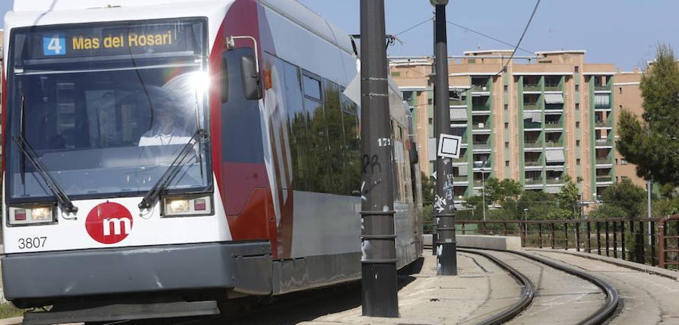 El tranvía de Valencia inicia hoy otra semana de paros hasta el domingo