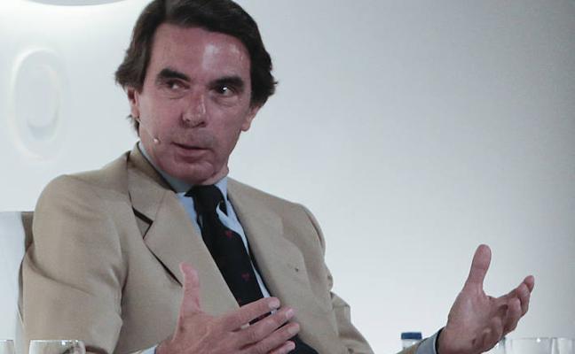 Aznar: «Antes de romperse España se rompe Cataluña»