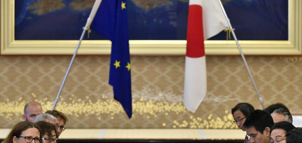 La UE y Japón llegan a un acuerdo de libre comercio