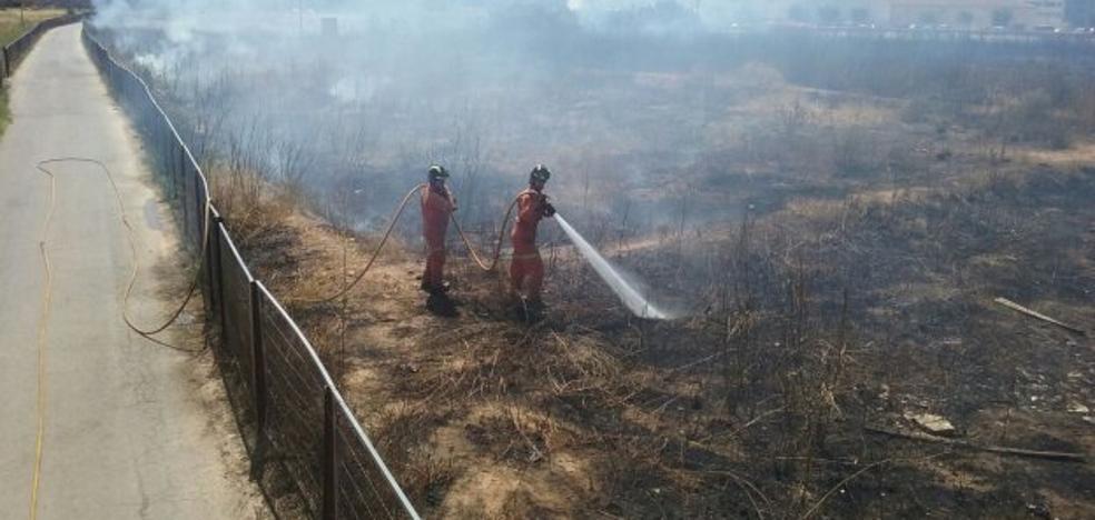 Una veintena de incendios al día en la Comunitat Valenciana