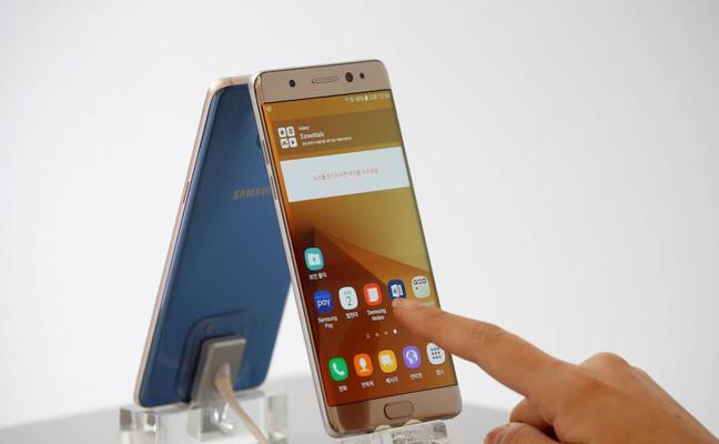 Samsung presenta la versión rediseñada de su malogrado Note 7