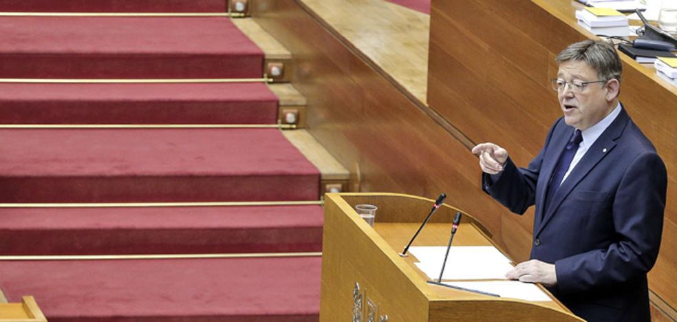Ximo Puig, a Podemos: «El Consell no hace ningún triunfalismo»