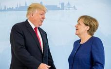 Merkel y Trump hablan sobre Corea del Norte, Oriente Próximo y Ucrania antes del G-20