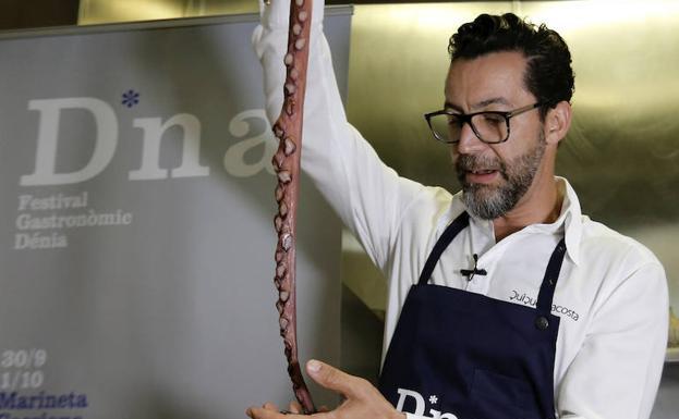 Fotos de la presentacion del Festival Gastronomico de Denia, con Quique Dacosta.