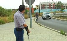 Un ciclista valenciano busca a la conductora que lo arrolló y se dio a la fuga