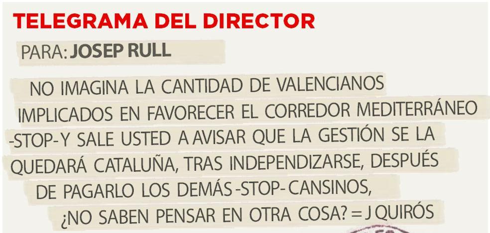 Telegrama para Josep Rull