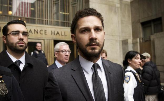 El actor Shia LaBeouf./Brendan McDermid (Reuters)