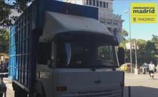 Muere un ciclista tras ser atropellado por un camión en Madrid