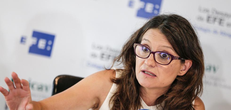 Mónica Oltra: «Las críticas frívolas a mi viaje a Gaza no merecen el mínimo respeto»