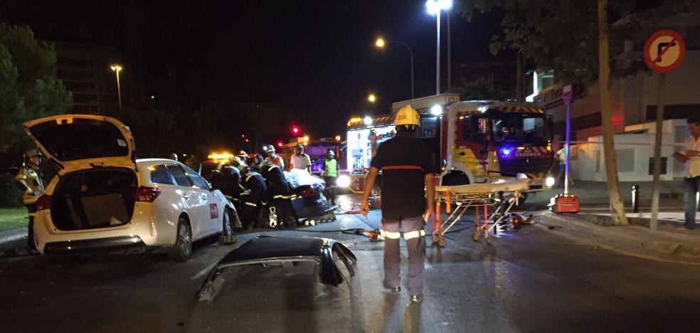 Una joven muere en un accidente de tráfico en Valencia