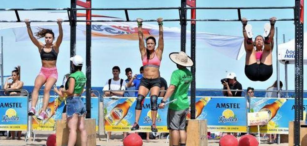 Este verano, haz deporte gratis en las playas del Marítimo