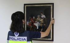 La Policía de la Generalitat detiene a un galerista de Calpe por traficar con obras de arte falsificadas