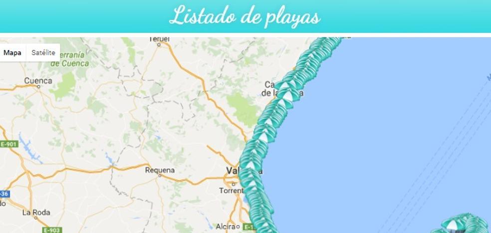 Compara cada día el estado de tus playas favoritas en infoPlayas