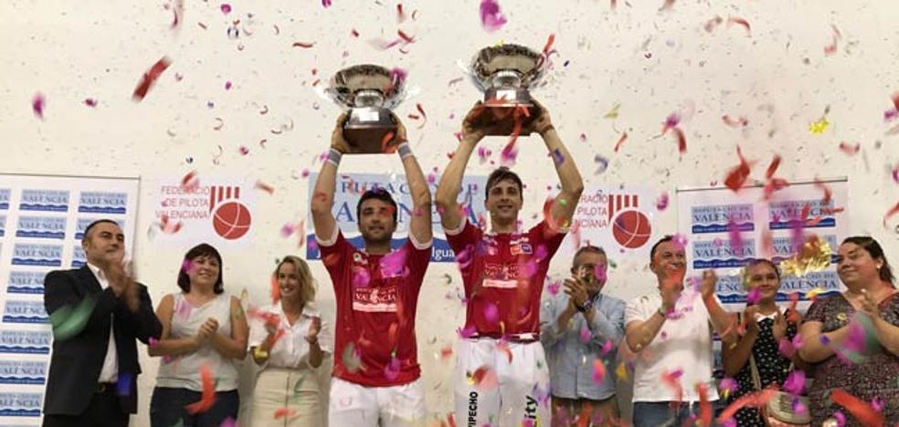 Puchol II y Monrabal, campeones de Copa en un último juego de infarto