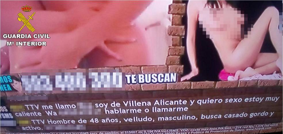 Un menor en Villena publica por venganza el teléfono de una amiga en un anuncio de contactos sexuales