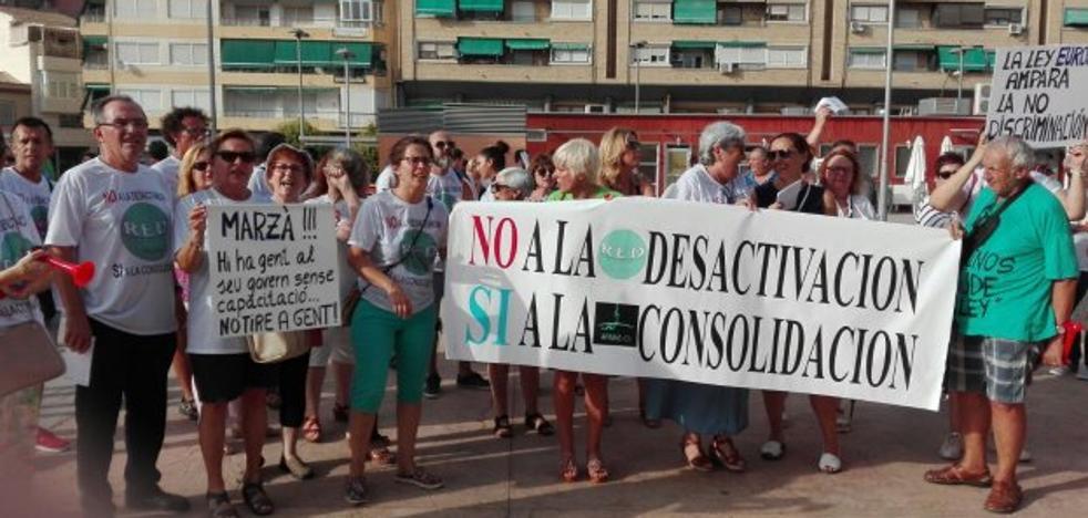 Mil profesores perderán su puesto por no tener título de valenciano