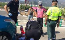 Ángel Vicioso y Jesús Gomar, atropellados por un coche en Xeraco