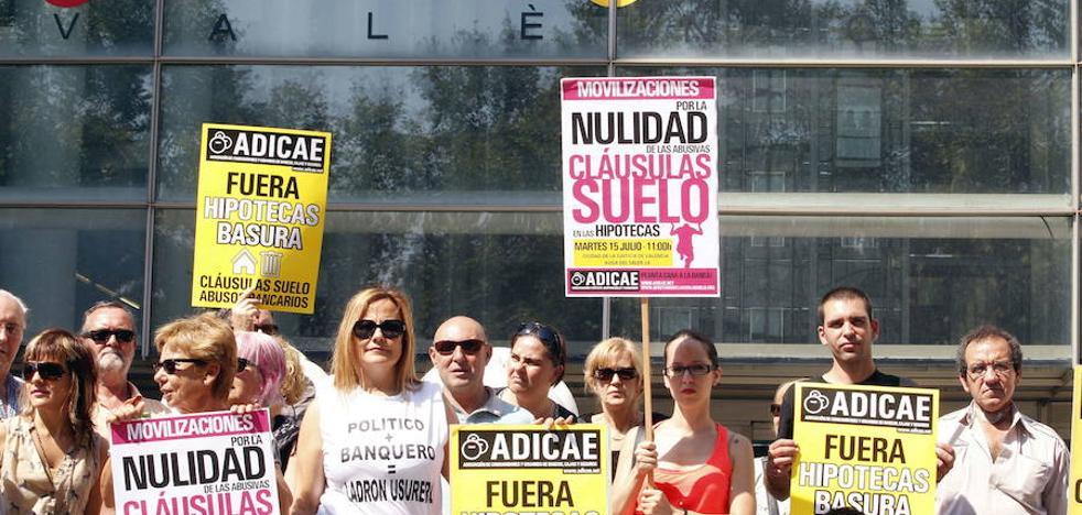 El juzgado de Valencia para cláusulas suelo celebrará los primeros juicios en septiembre tras casi 1.200 demandas