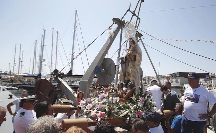 Fotos de la celebración en Valencia de Nuestra Señora del Carmen