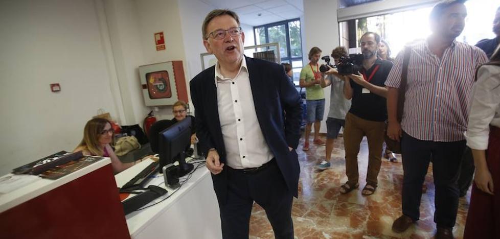 Confirmada la victoria de Ximo Puig al 70% del escrutinio