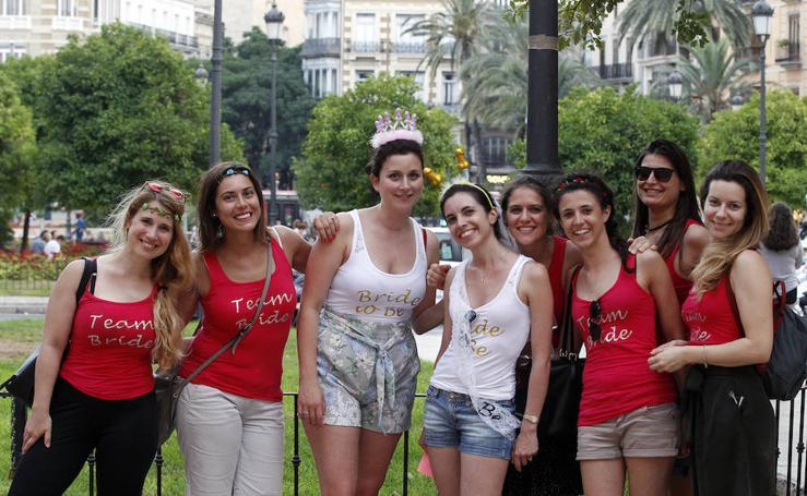 Fotos de una despedida de soltera en Valencia